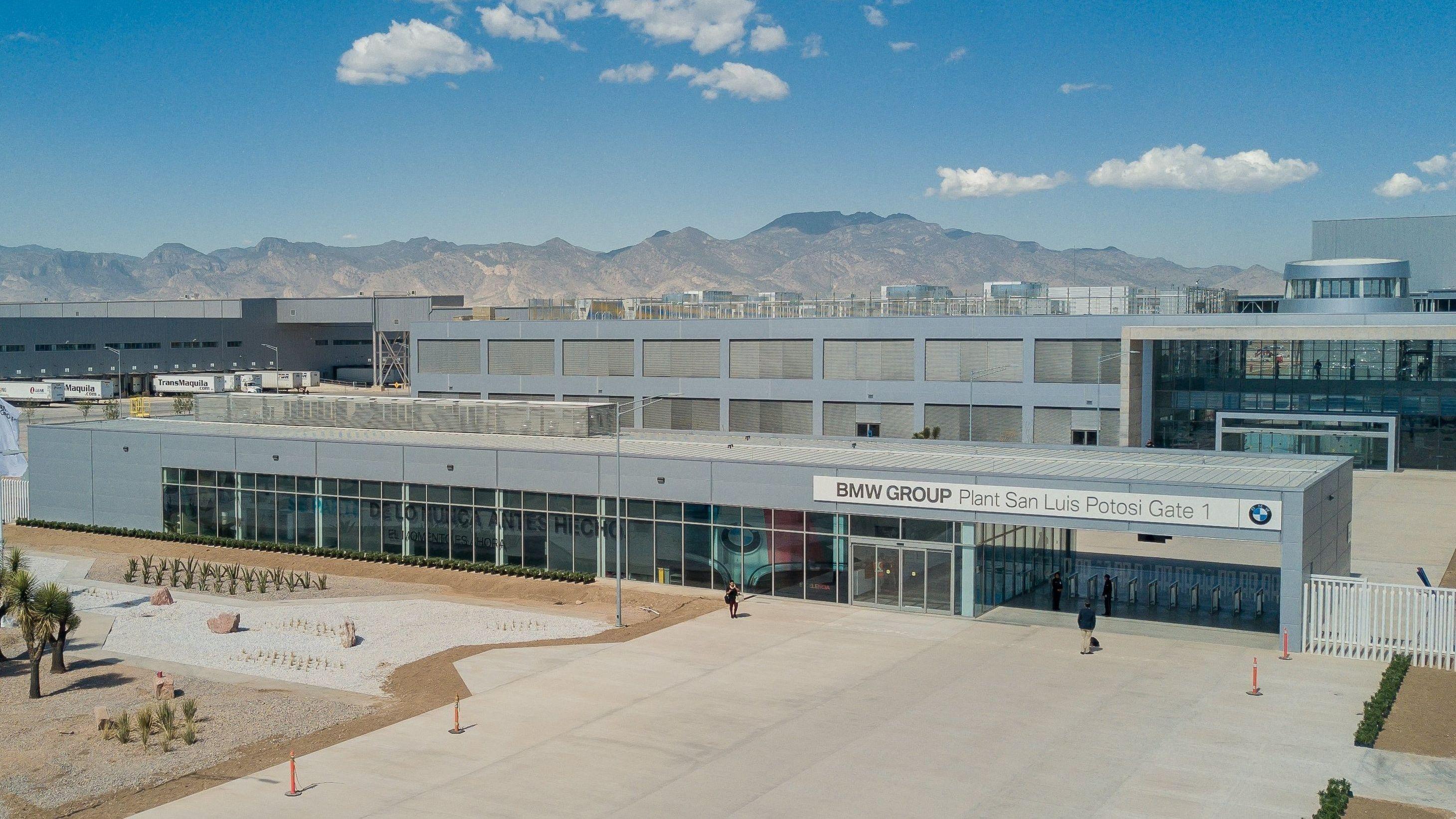 Das neue Werk von BMW in Mexiko