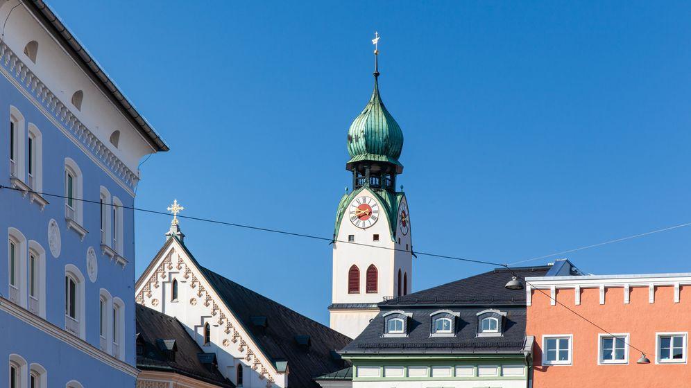 Stadtansicht Rosenheim.  | Bild:BR / Herbert Ebner