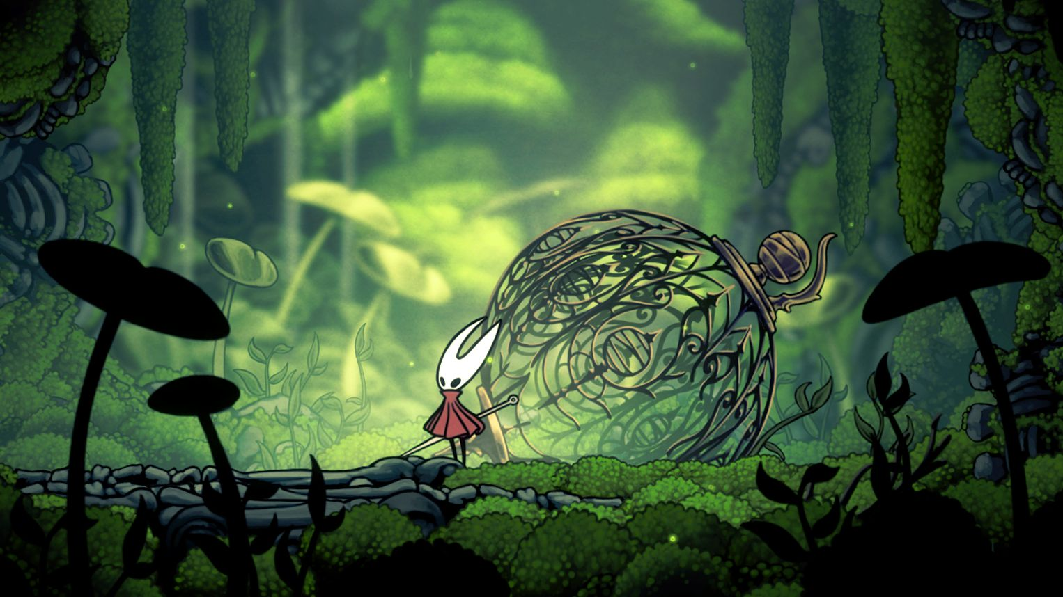 "Screenshot Indie-Spiel ""Hollow Knight: Silksong"""