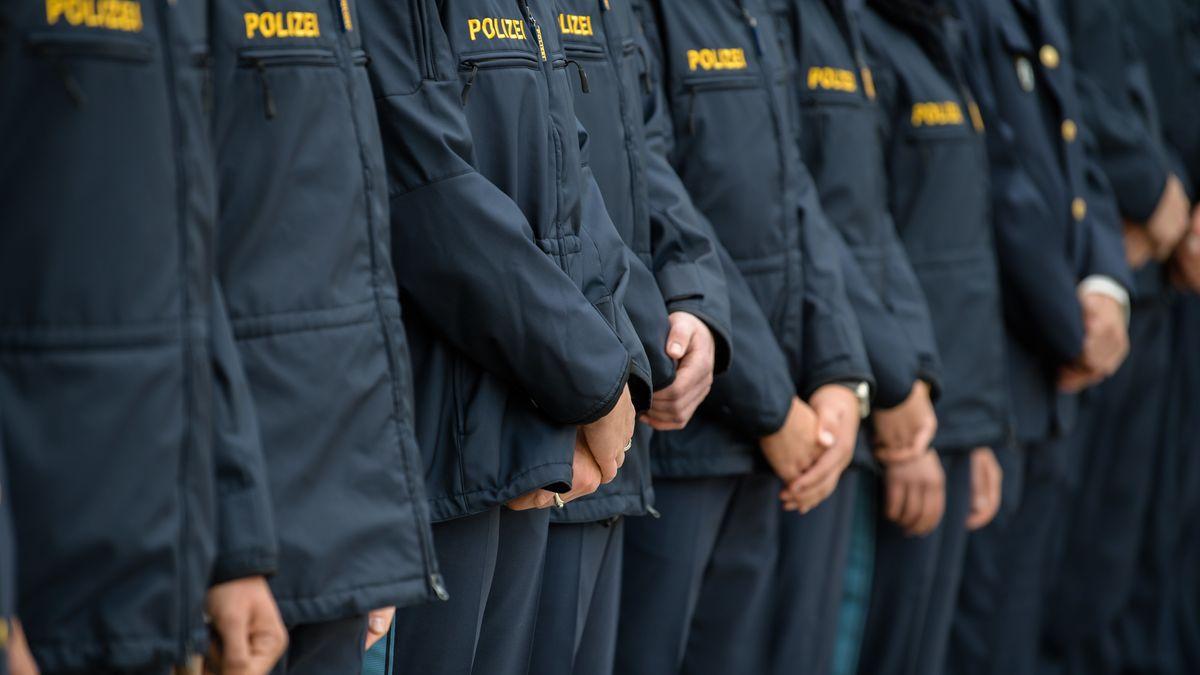 Symbolbild Bereitschafspolizei.