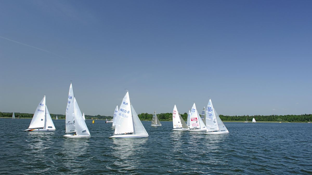 Segelboote auf dem Chiemsee (Archivbild)