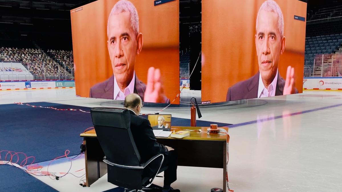 Druckfrisch: Barack Obama im Interview