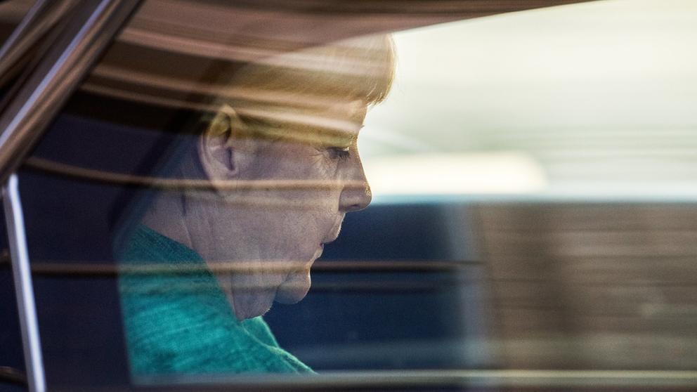 Angela Merkel   Bild:dpa-Bildfunk/Bernd von Jutrczenka