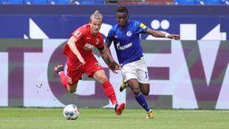 Spielszene FC Schalke 04 - FC Augsburg | Bild:picture-alliance/dpa