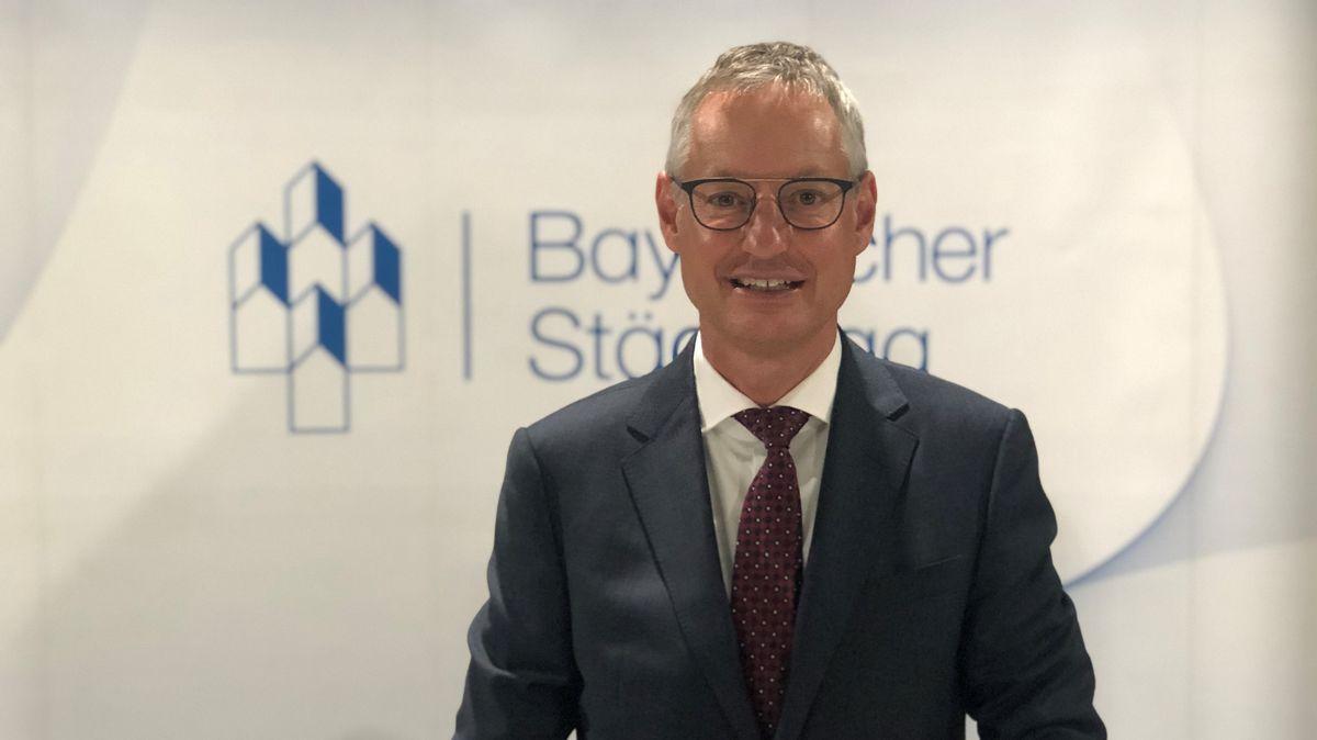 Markus Pannermayr (CSU) , Oberbürgermeister von Straubing, ist neuer Vorsitzender des Bayerischen Städtetags