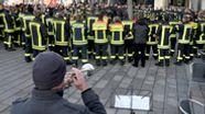 Trauer am Königsplatz Augsburg   Bild:dpa-Bildfunk/Stefan Puchner