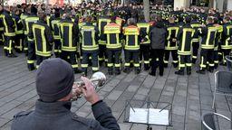 Trauer am Königsplatz Augsburg | Bild:dpa-Bildfunk/Stefan Puchner