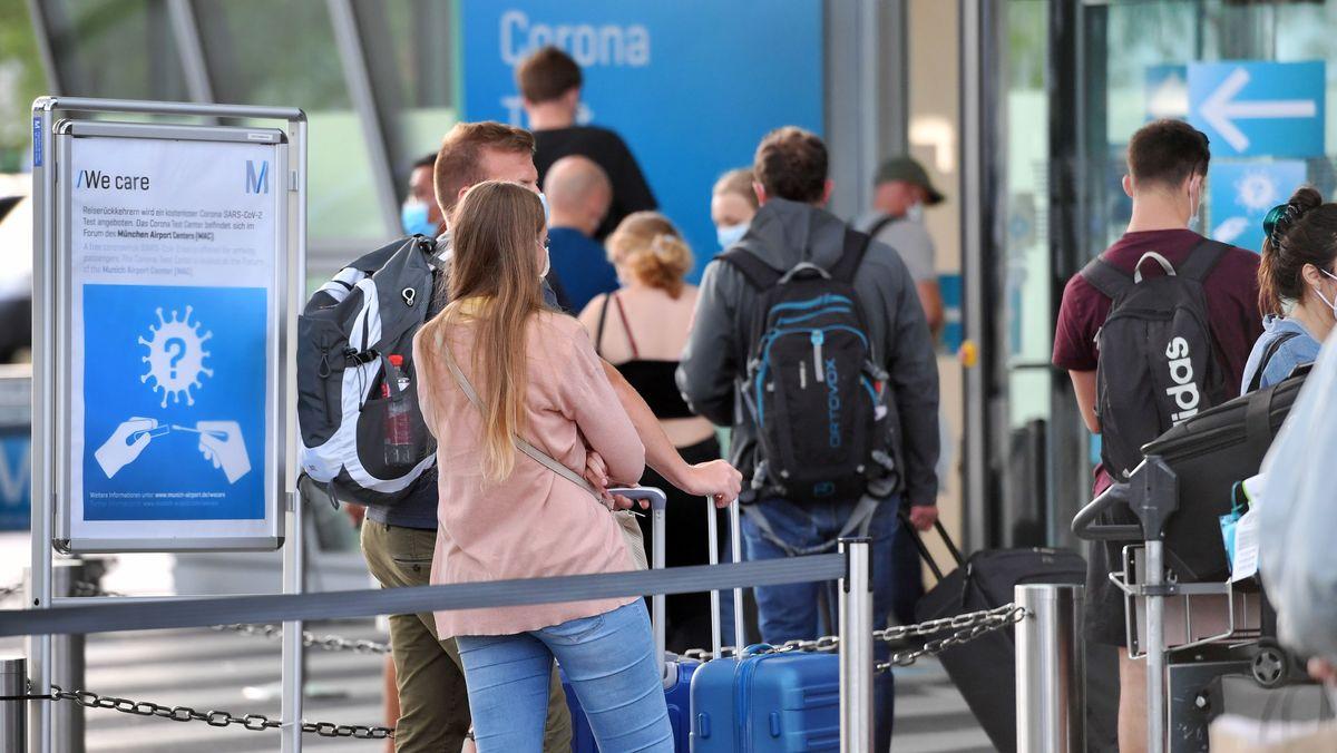 Test-Panne in Bayern: Ergebnisse bei 10.000 Menschen verspätet