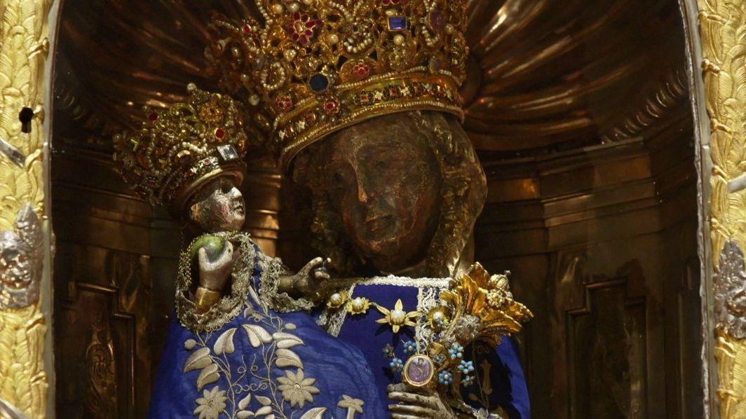 Die Schwarze Madonna in Altötting ist eine der bekanntesten Marien-Darstellungen in Bayern.