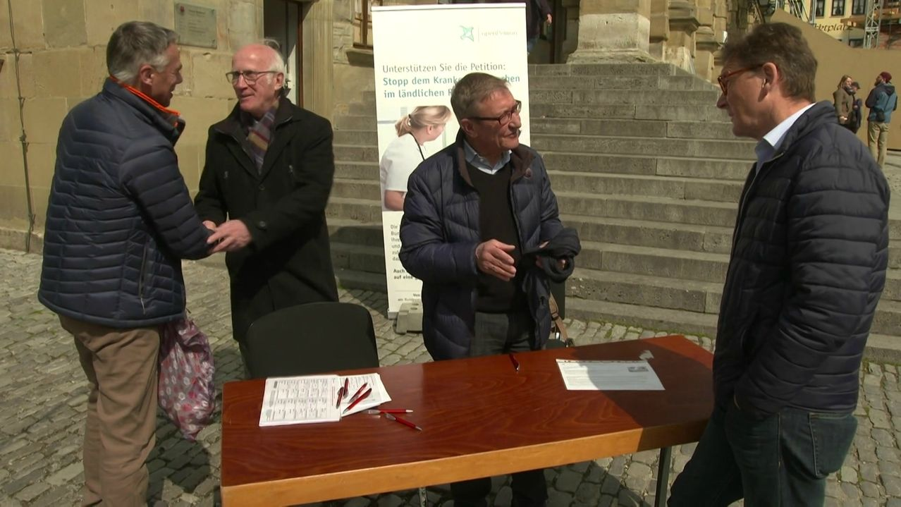 Rothenburg ob der Tauber: Petition gegen Krankenhaus-Sterben.