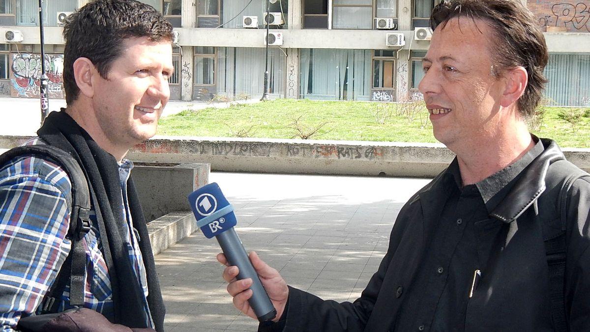 SCHABAN BAJRAMI, freier Mitarbeiter in Nordmazedonien
