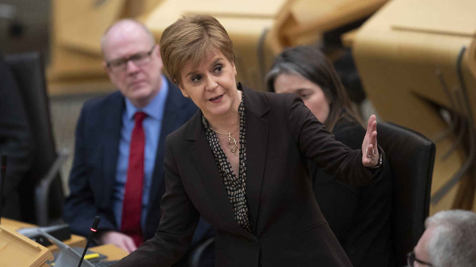 Nicola Sturgeon, schottische Regierungschefin, möchte im zweiten Halbjahr 2020 ein neues Unabhängigkeitsreferendum durchführen.