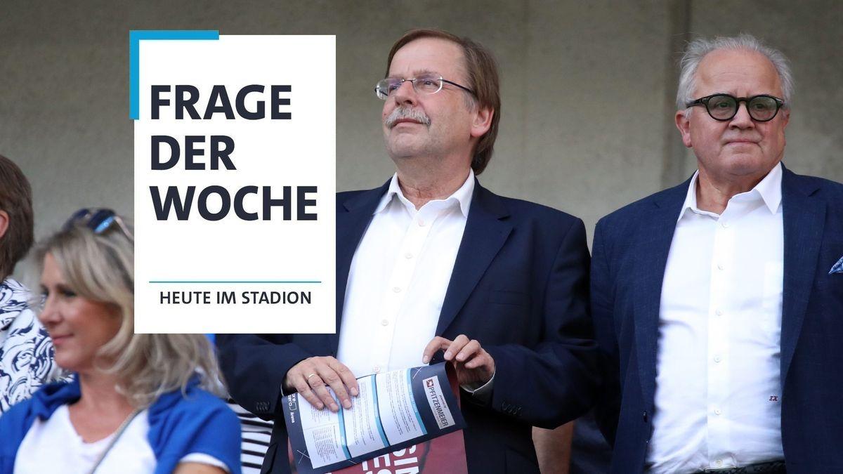 DFB-Vize Rainer Koch (links) und Präsident Fritz Keller (Archivbild)