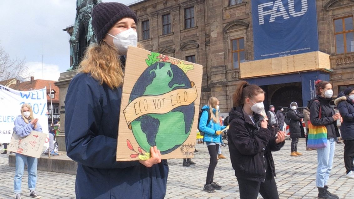 Fridays for Future-Demo in Erlangen