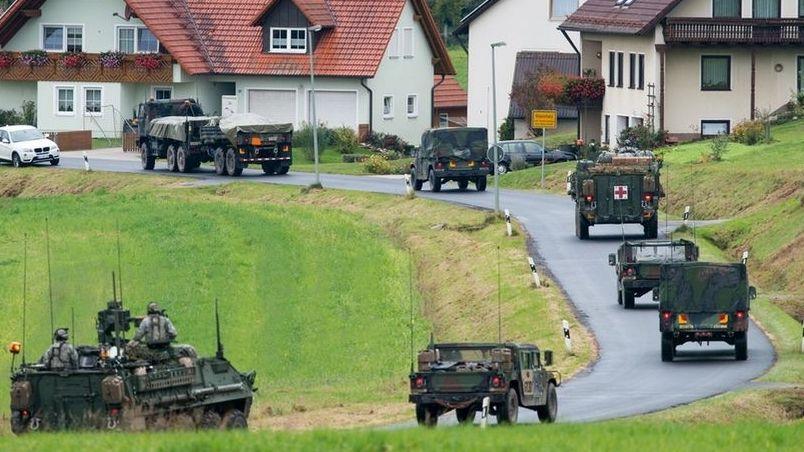 Kleinfalz bei Grafenwöhr: US-Truppenabzug aus Deutschland beschlossen.