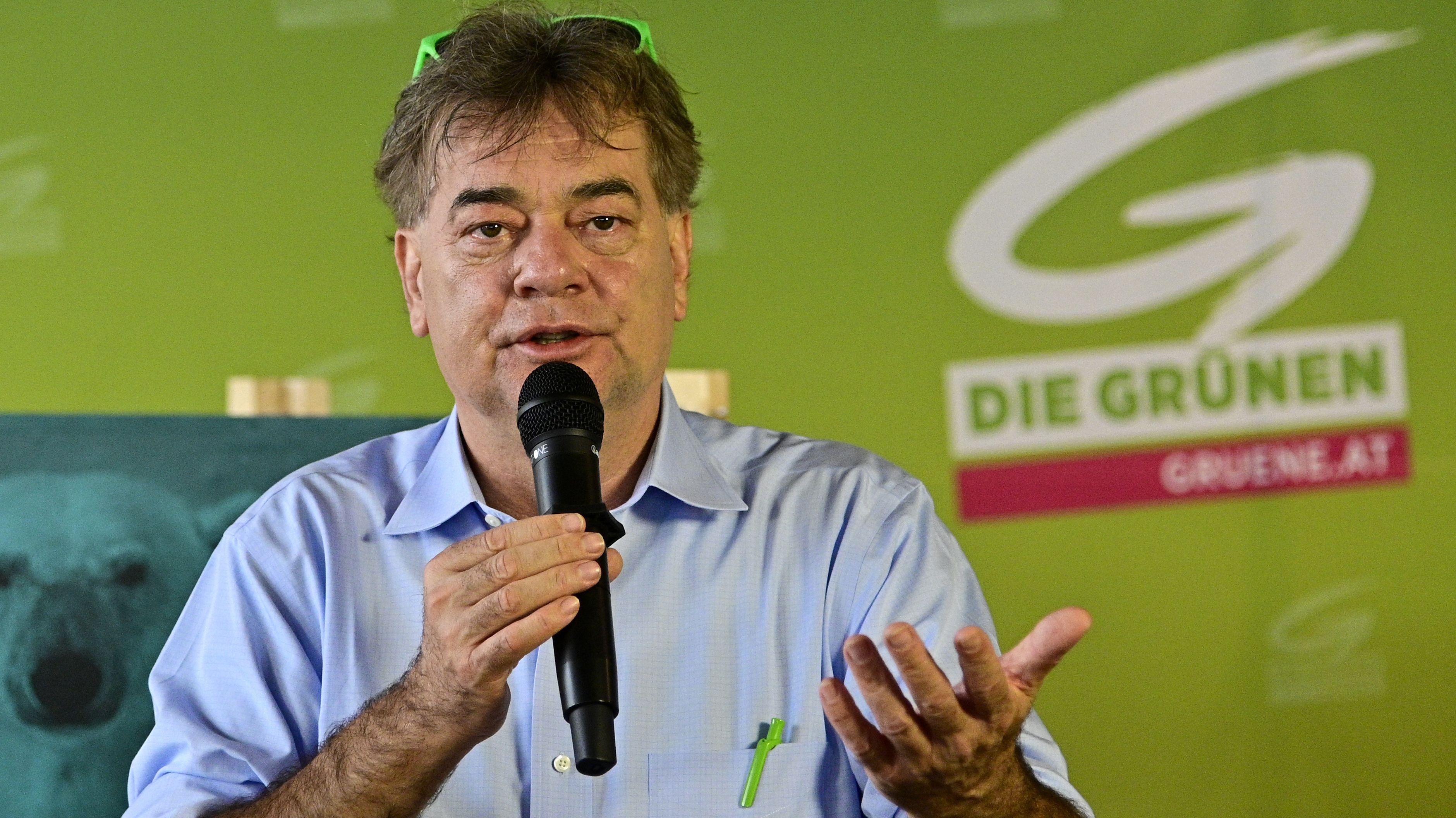Werner Kogler, Spitzenkandidat der österreichischen Grünen