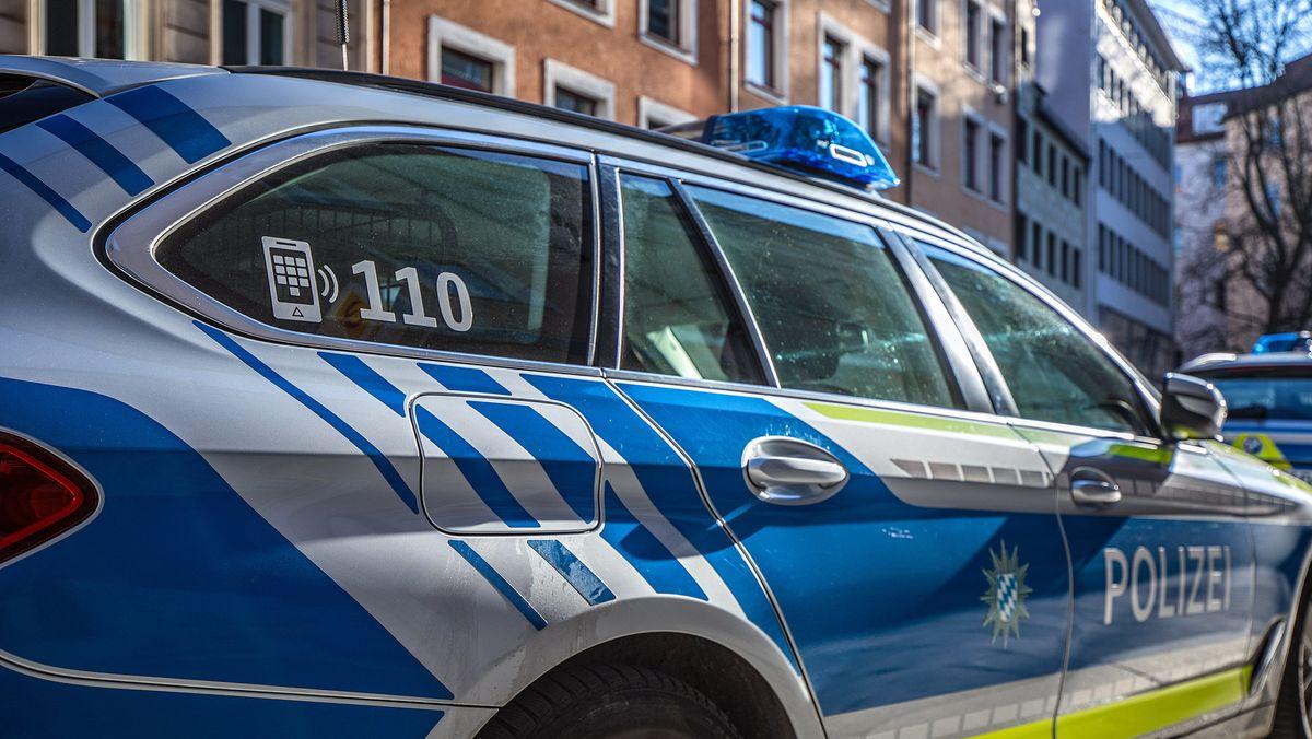 Polizeiauto in München (Symbolbild)