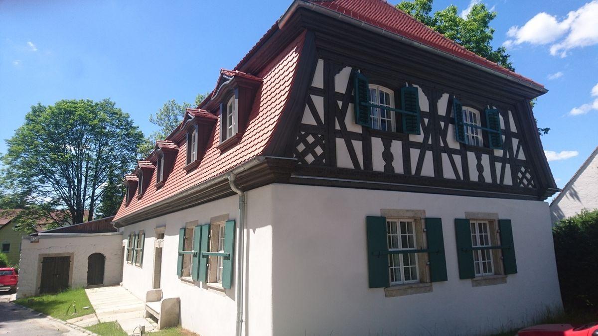 Das Forsthaus in Hohenberg
