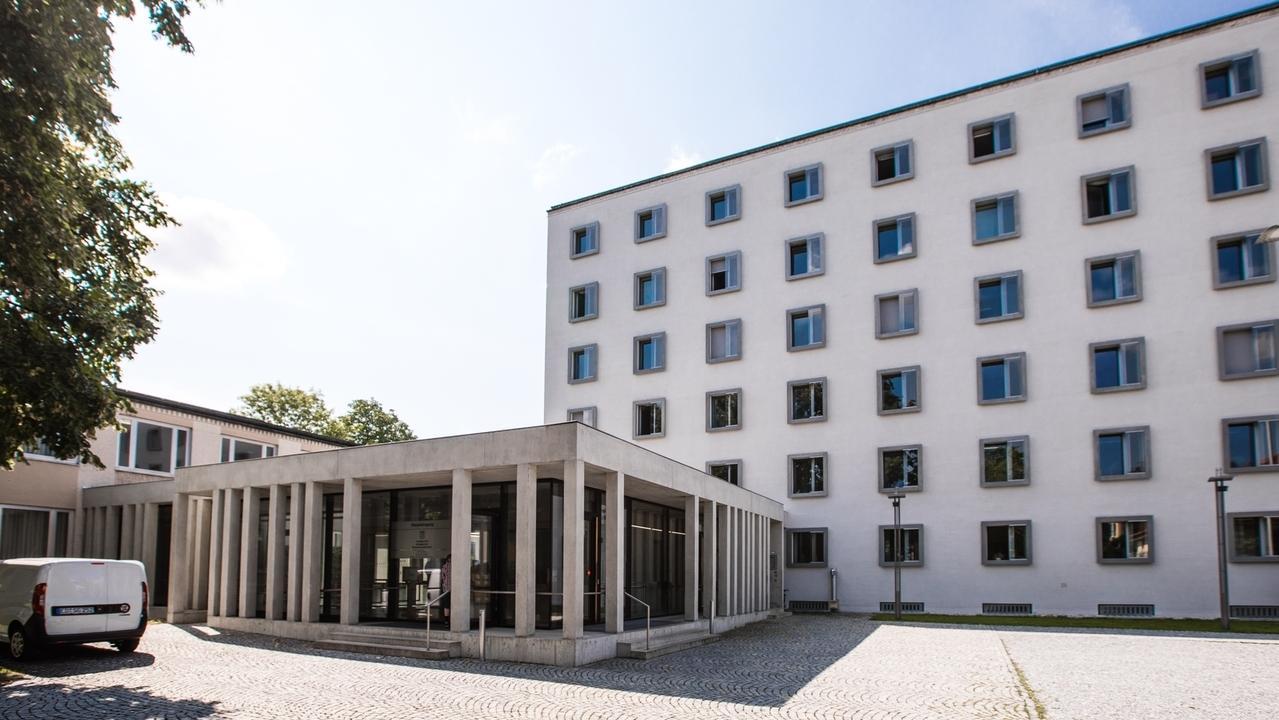 Das Amts- und Landgericht in Traunstein.