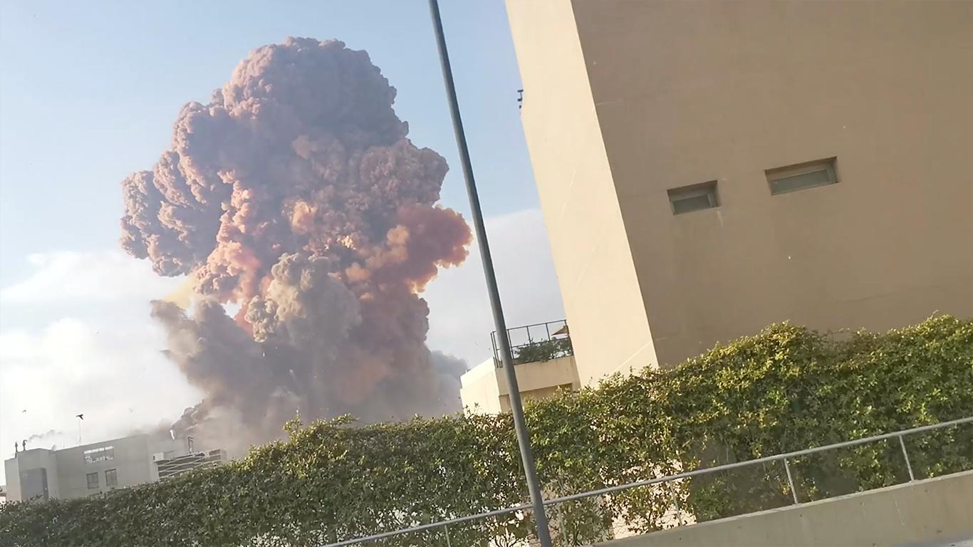 Beirut: Massive Explosion erschüttert Libanons Hauptstadt