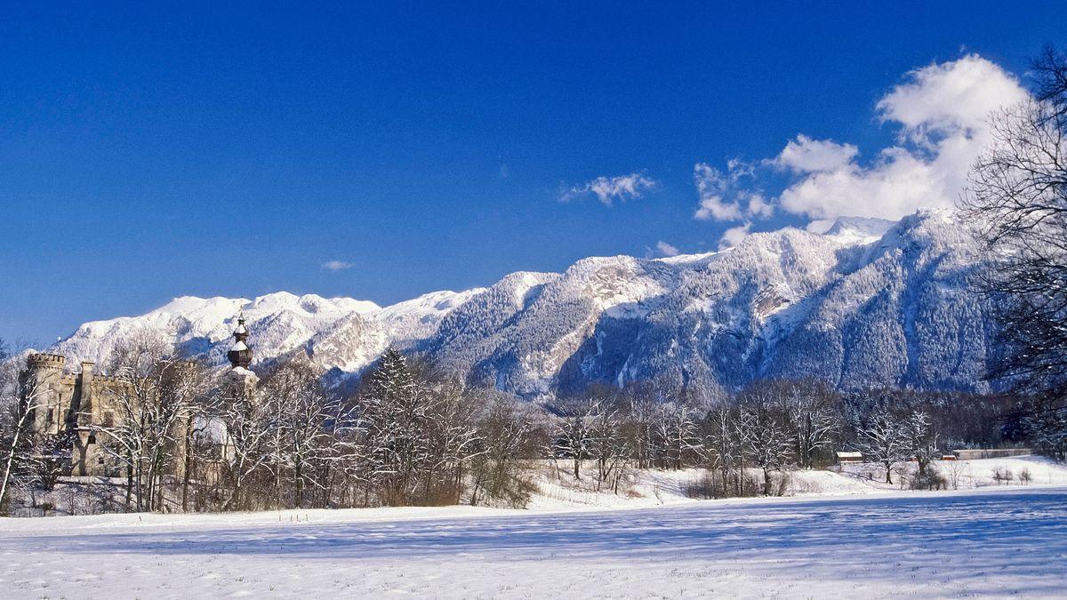 Berchtesgadener Land im Winter