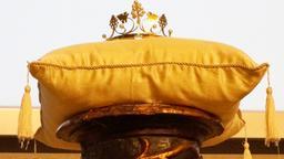 Krone der Fränkischen Weinkönigin | Bild:BR-Mainfranken
