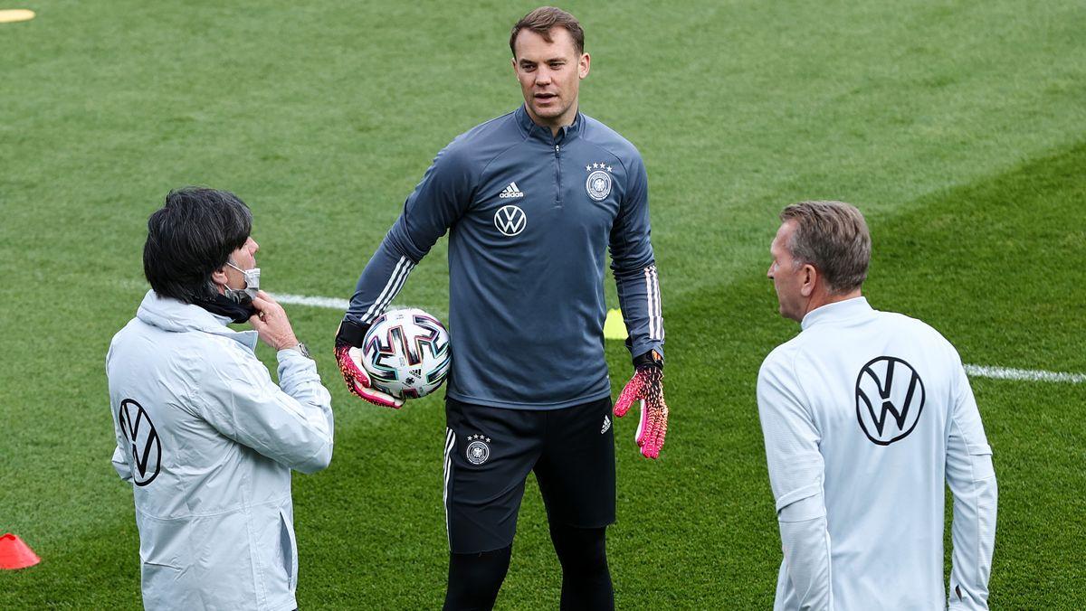 Joachim Löw, Manuel Neuer, Andreas Köpke