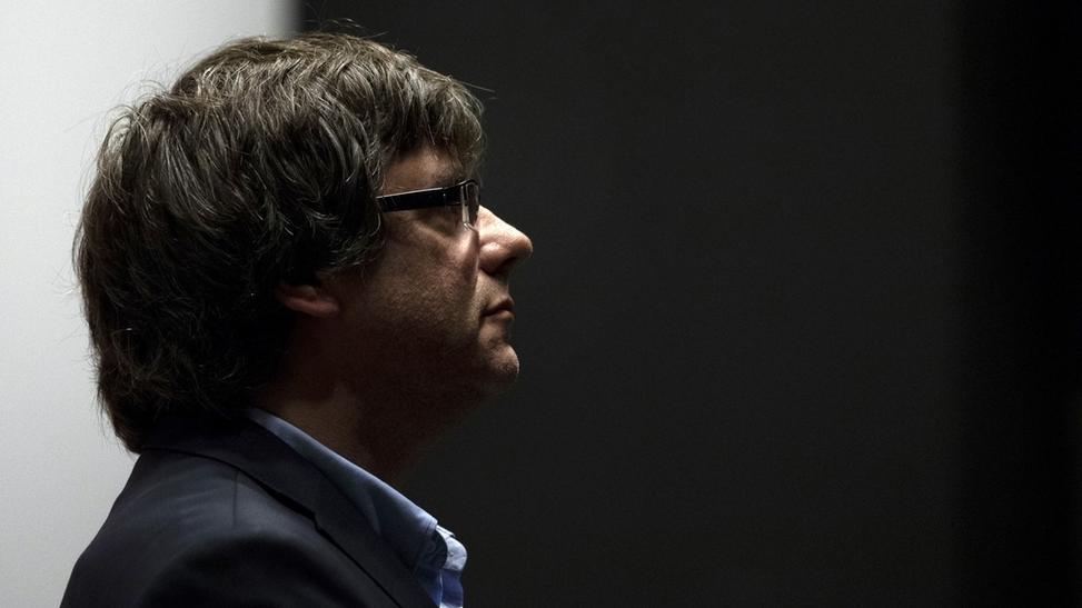 Puigdemont bei Treffen in Brüssel