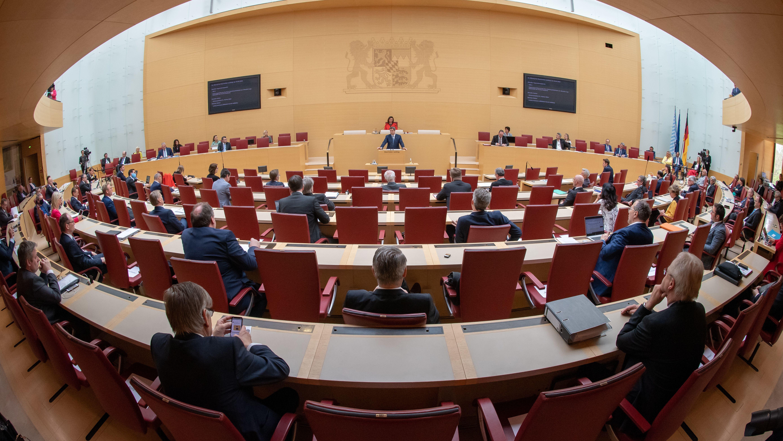 Archivbild: Landtagsplenum
