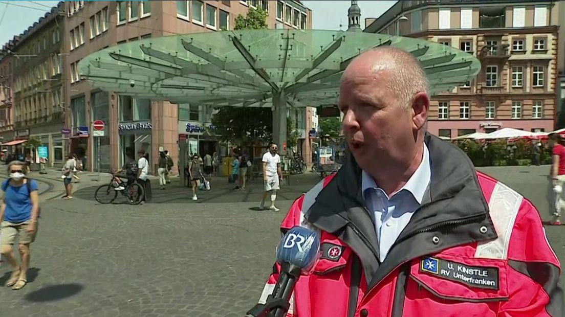 Uwe Kinstle, Einsatzleiter des Rettungsdienstes im BR24Live-Interview