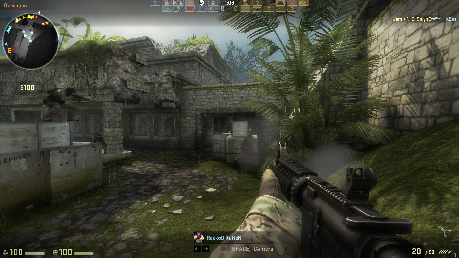 "Spielszene aus ""Counter Strike: Global Offensive"""