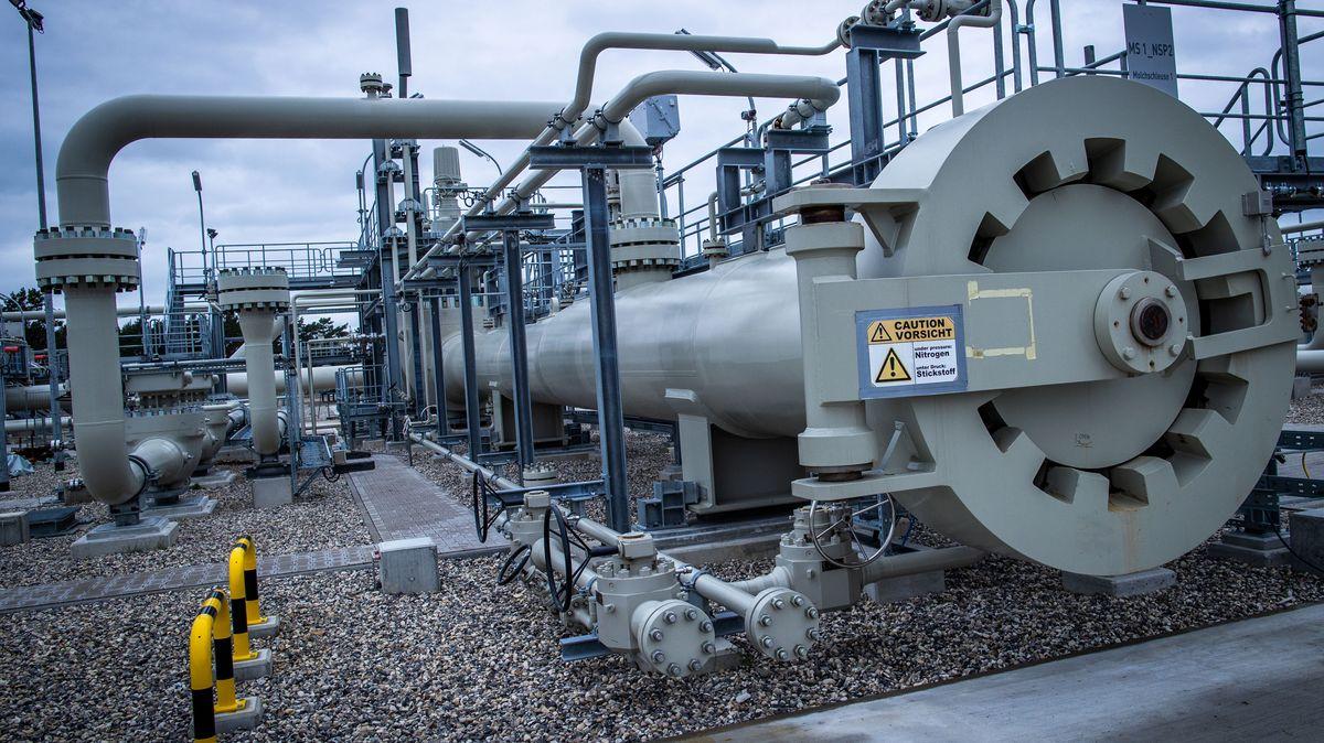 Gas-Anlandestation der Ostseepipeline Nord Stream 2