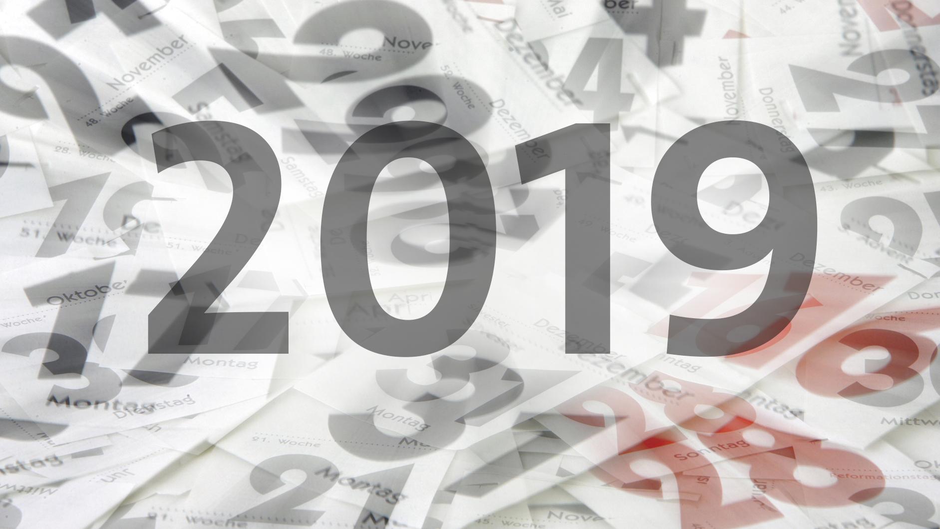 Das Jahr 2019