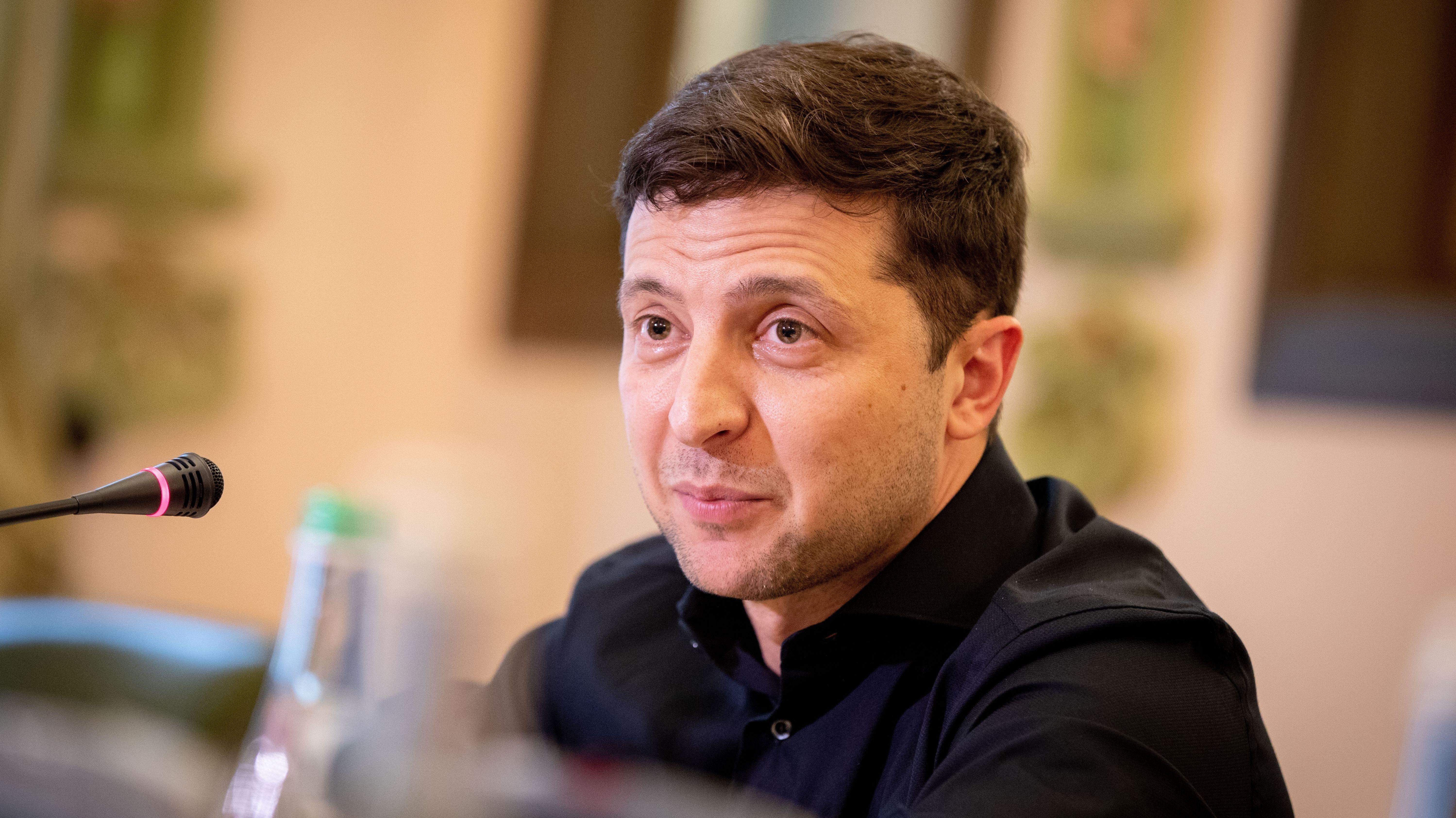 Wolodymyr Selenskyj ist seit einem Jahr Präsident der Ukraine