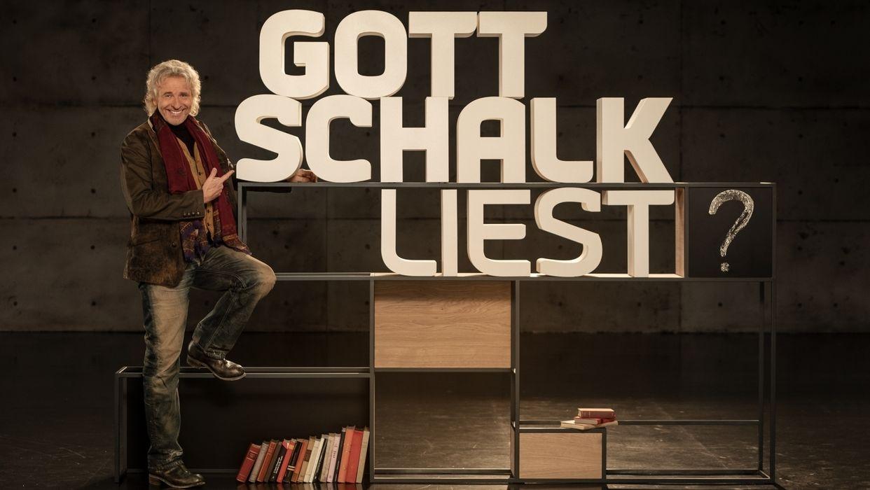 "Pressefoto ""Gottschalk liest"""
