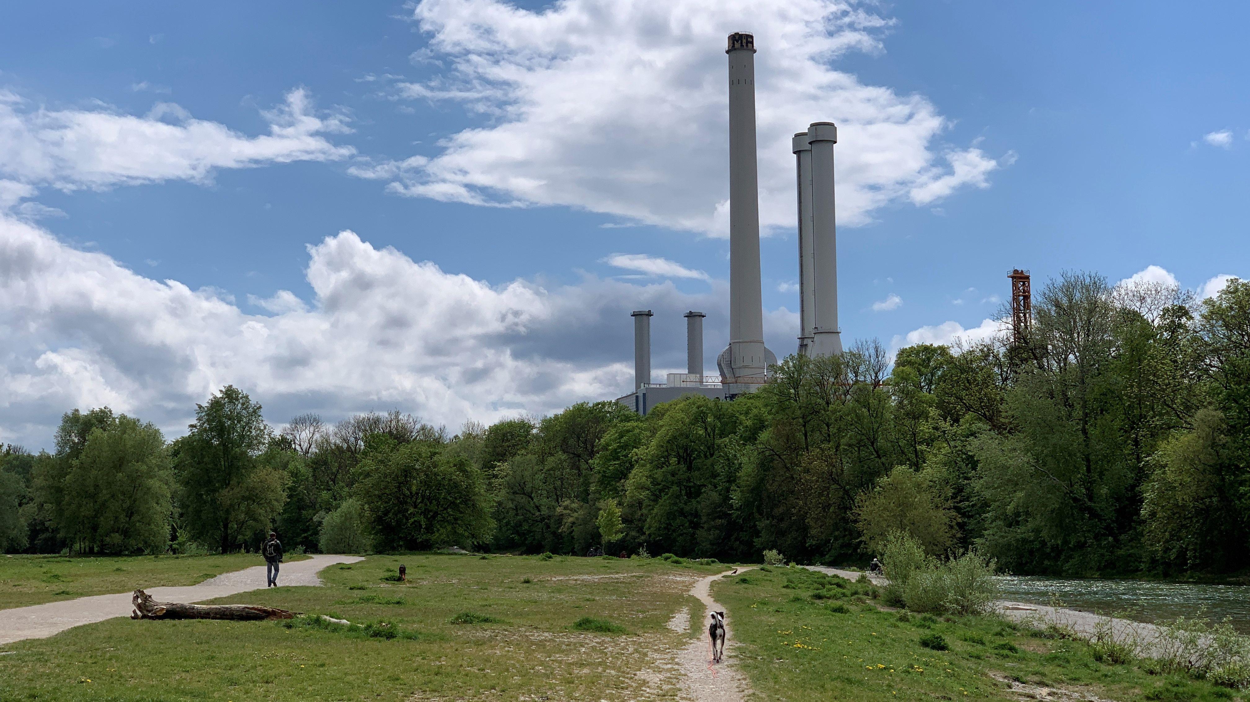 Das ehemalige Heizkraftwerk-Süd im Münchner Stadtteil Sendling