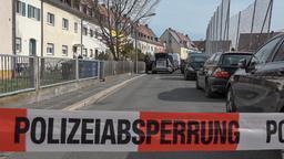 Abgesperrte Straße in Nürnberg | Bild:News5