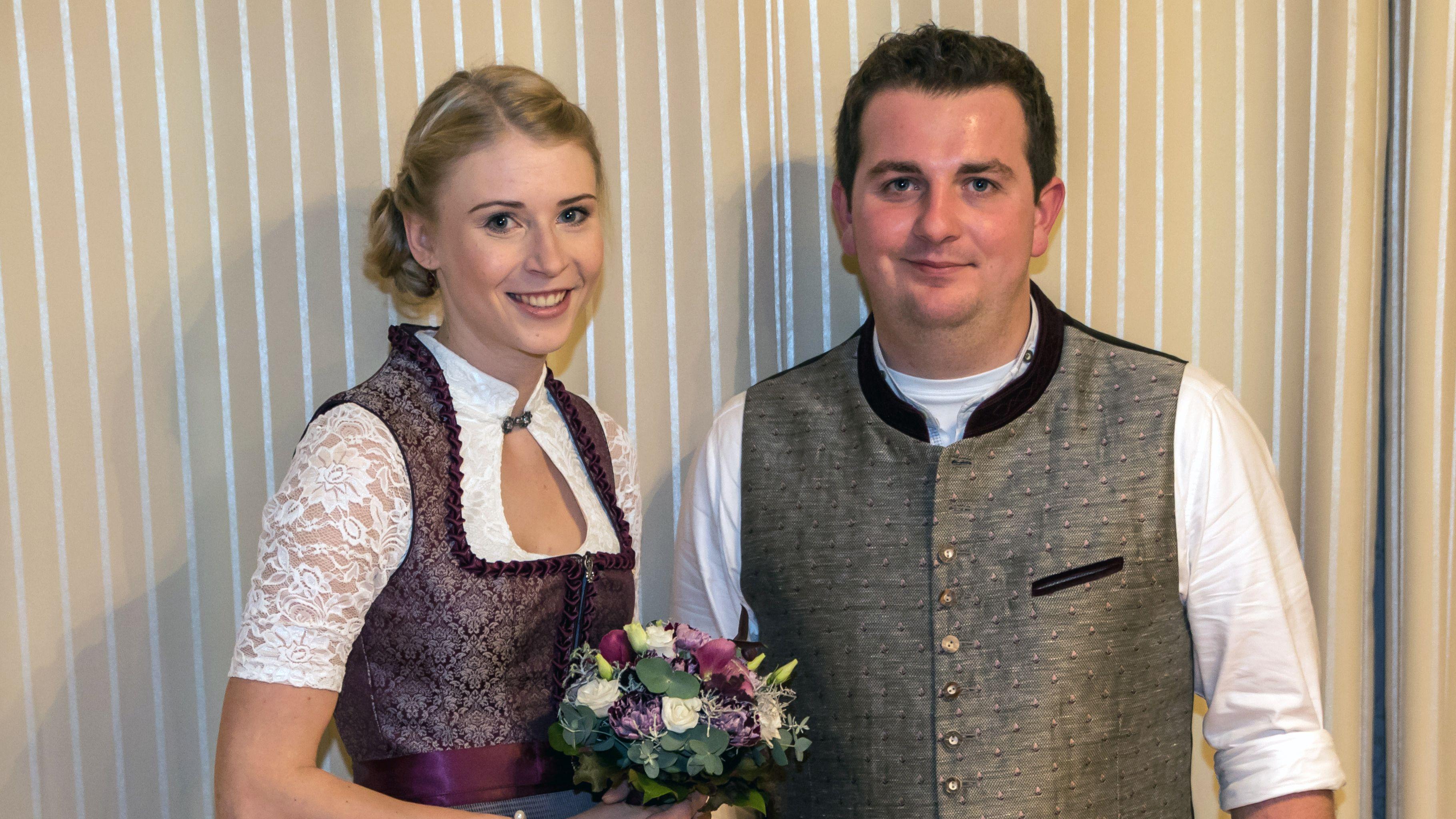 Stefanie Decker und Manuel Jarosch sind das Ritterpaar für die Drachenstich-Saison 2020.