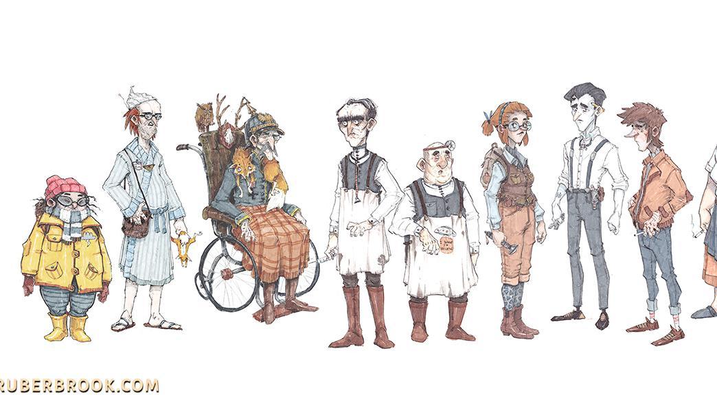 """Trüberbrook"": Das Ensemble"