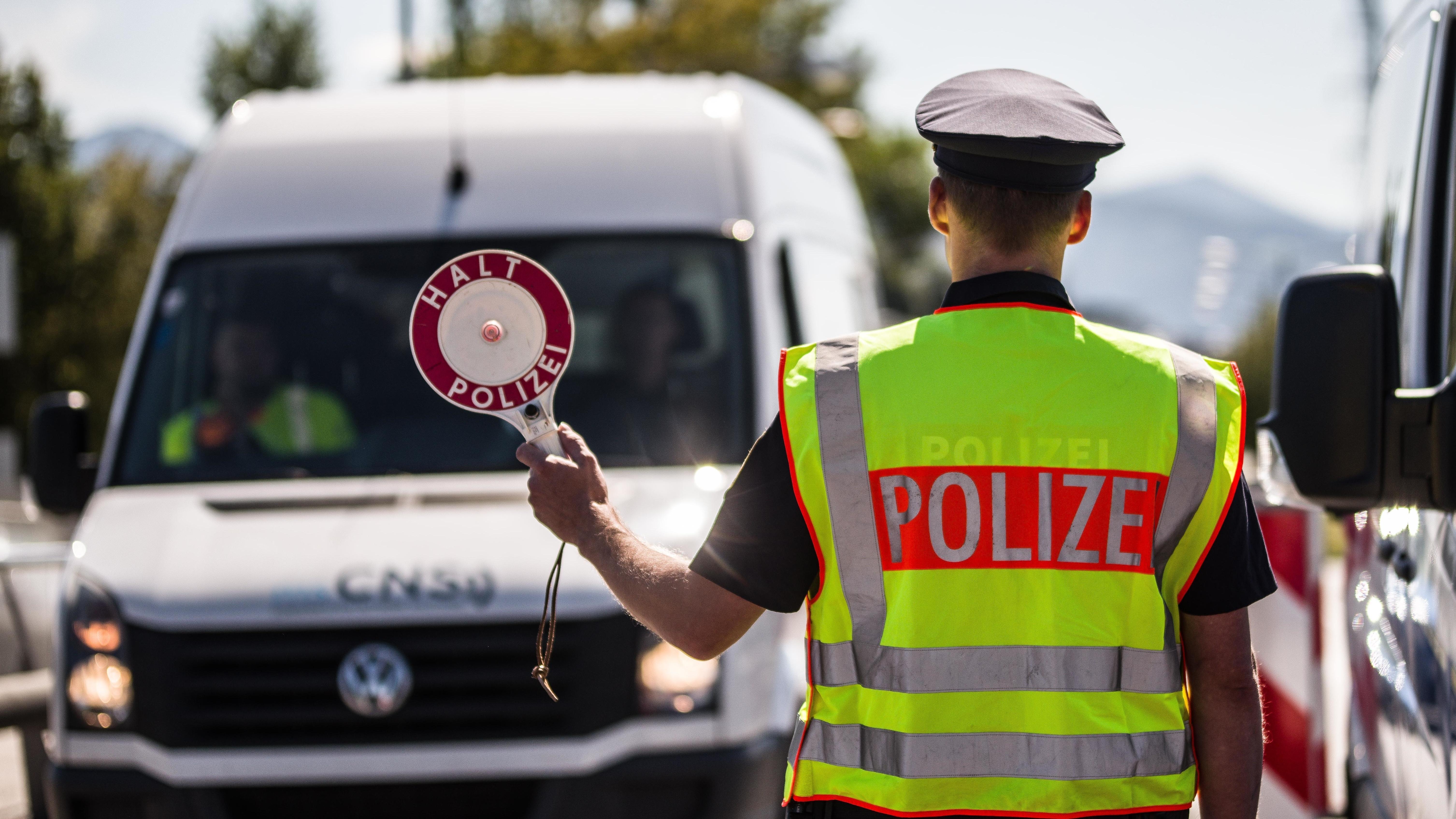 Freilassing: Kontrolle durch Grenzpolizei