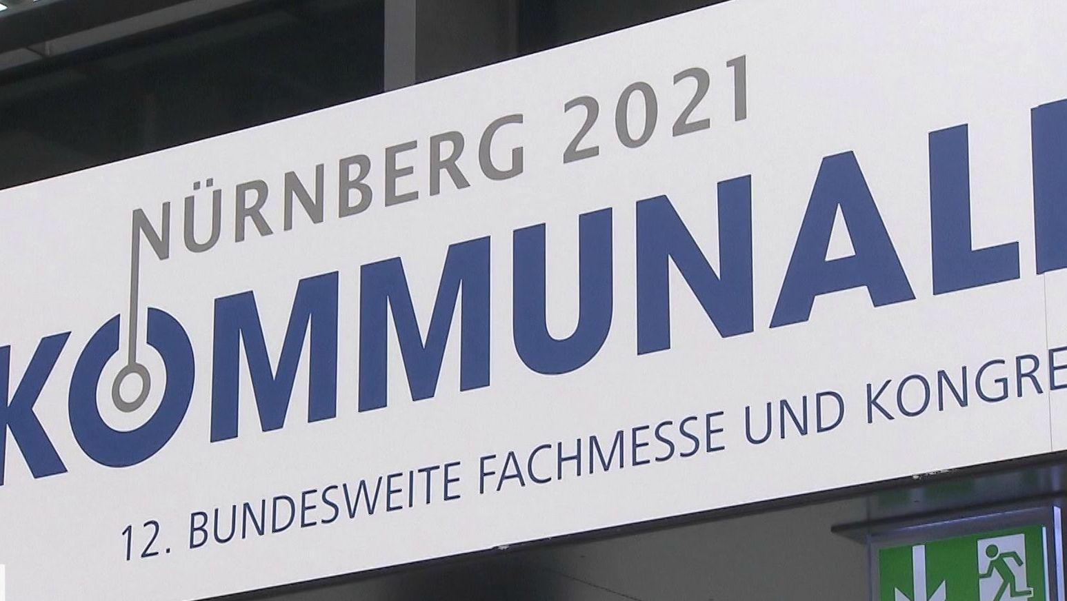 """Fachmesse """"Kommunale"""" in Nürnberg"""