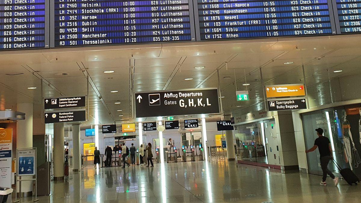 Reger Betrieb am Flughafen München