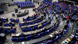 Der Deutsche Bundestag in Berlin. | Bild:dpa/picture-alliance/Britta Pedersen