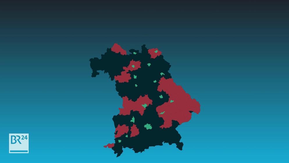 Nicht überall in Bayern gibt es schnelles Internet. | Bild:BR24
