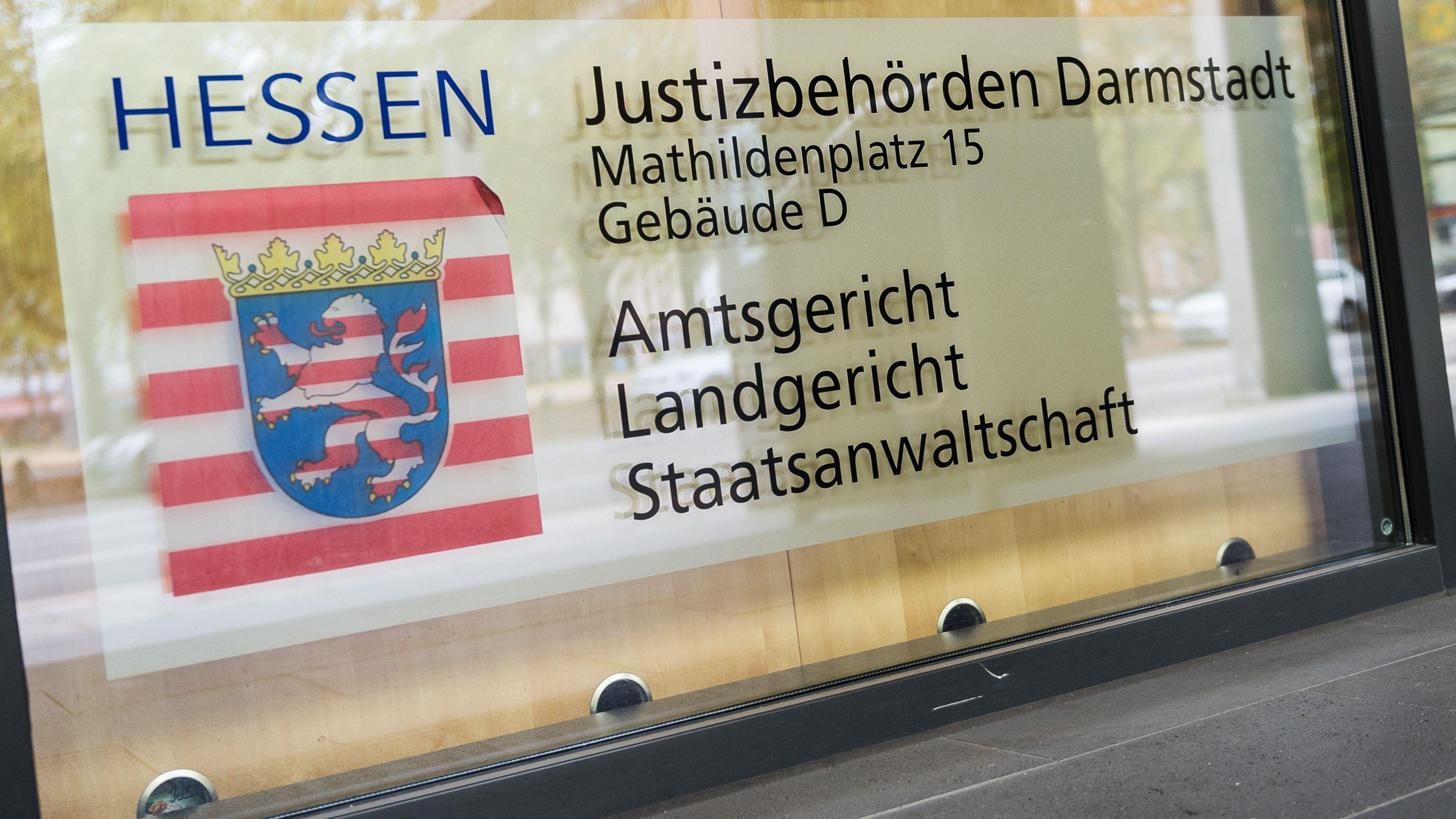 Prozess am Landgericht in Darmstadt