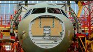 Airbus Produktion | Bild:dpa-Bildfunk/Sven Hoppe