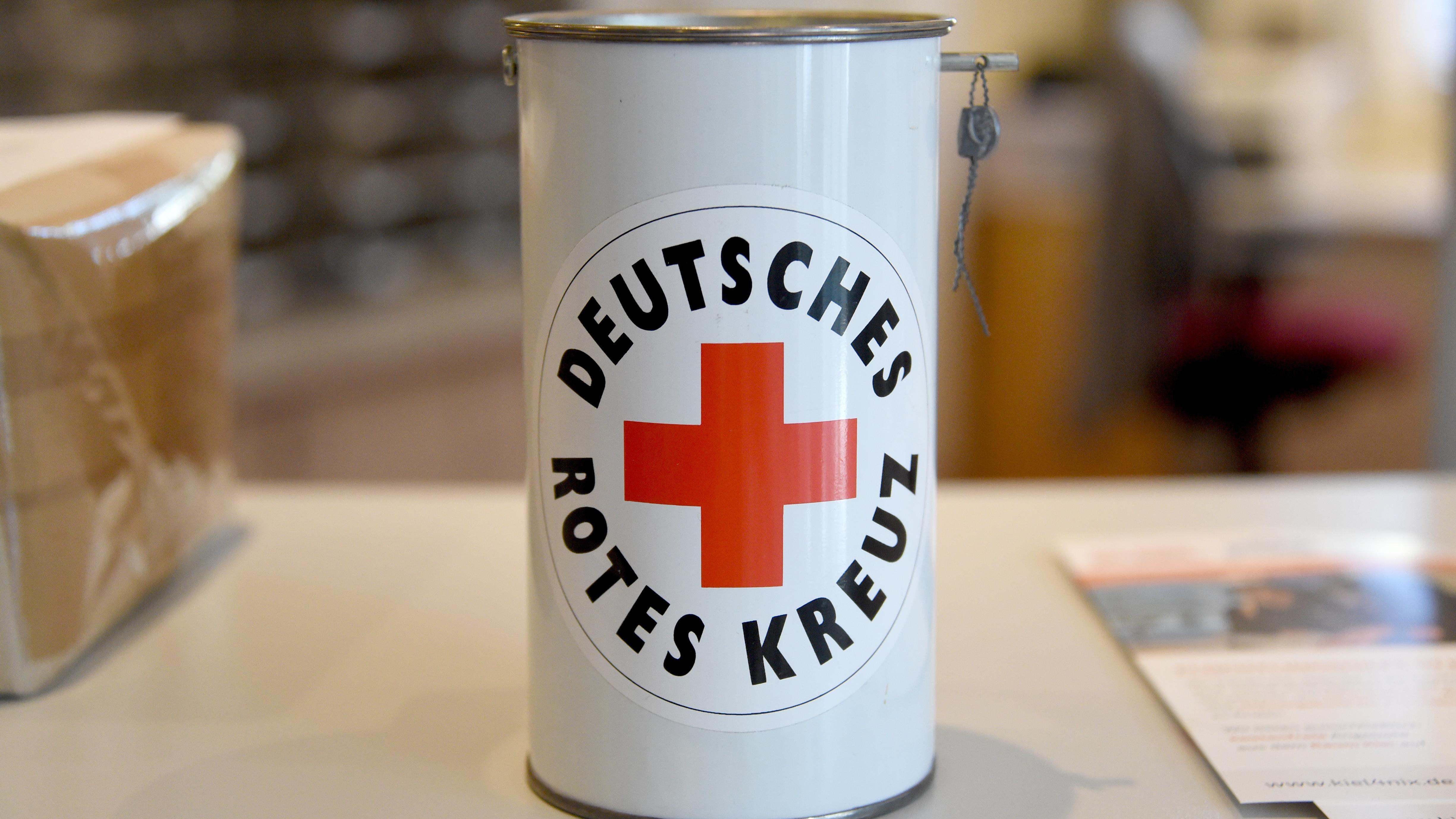 DRK-Spendenbüchse