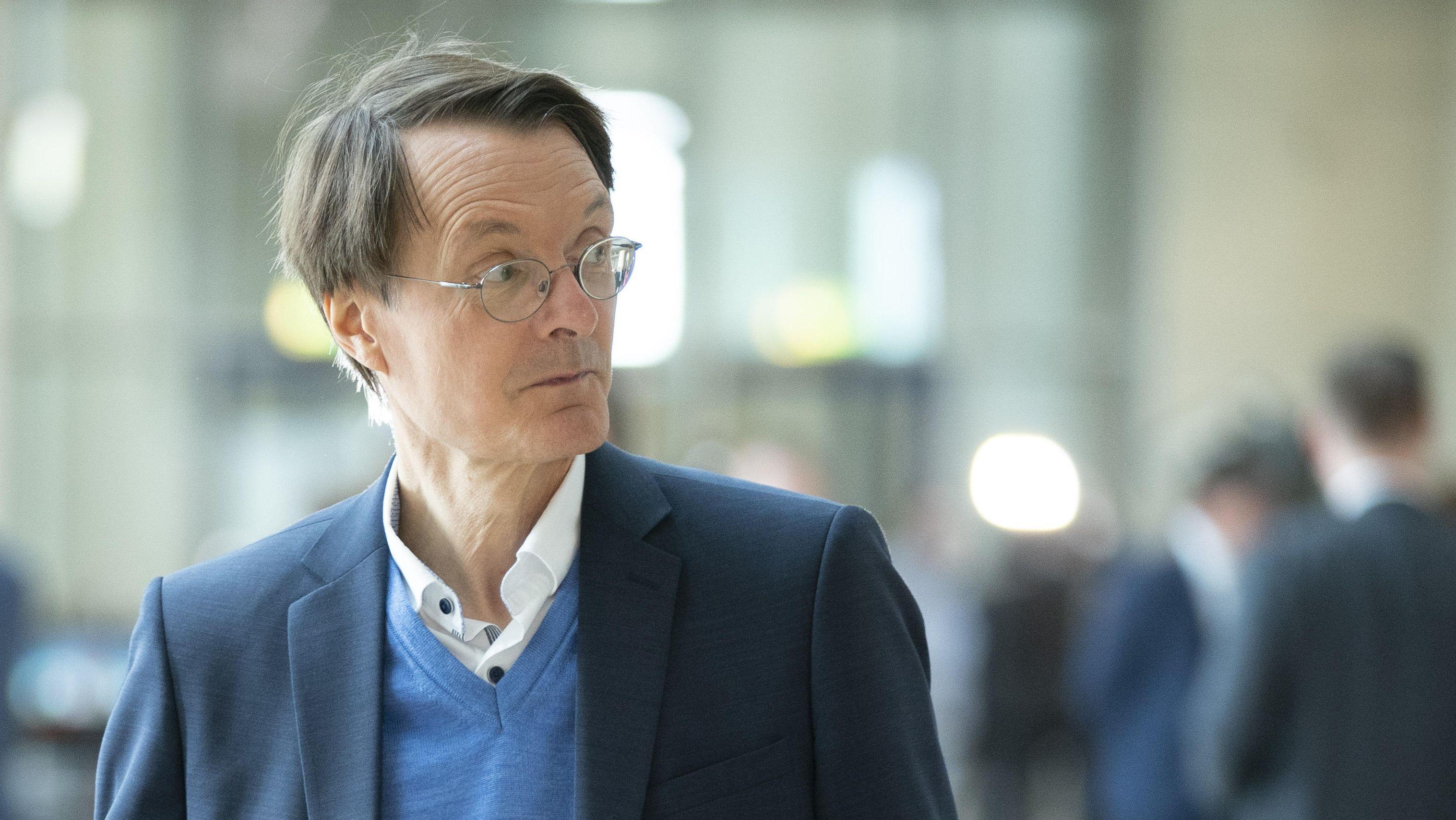 Der Gesundheitsexperte der SPD, Karl Lauterbach.
