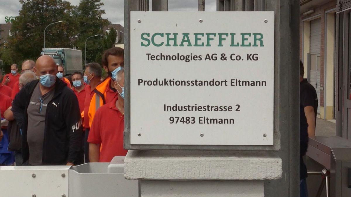 Schaeffler-Werk in Eltmann (Lkr. Haßberge) ist von Schließung bedroht