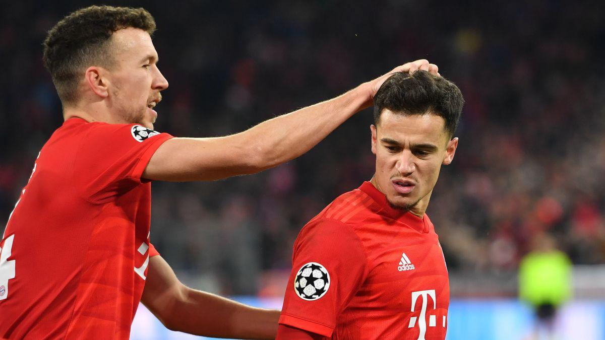 Ivan Perisic (links) und Philippe Coutinho beim 6:1 in der Bundesliga gegen Bremen
